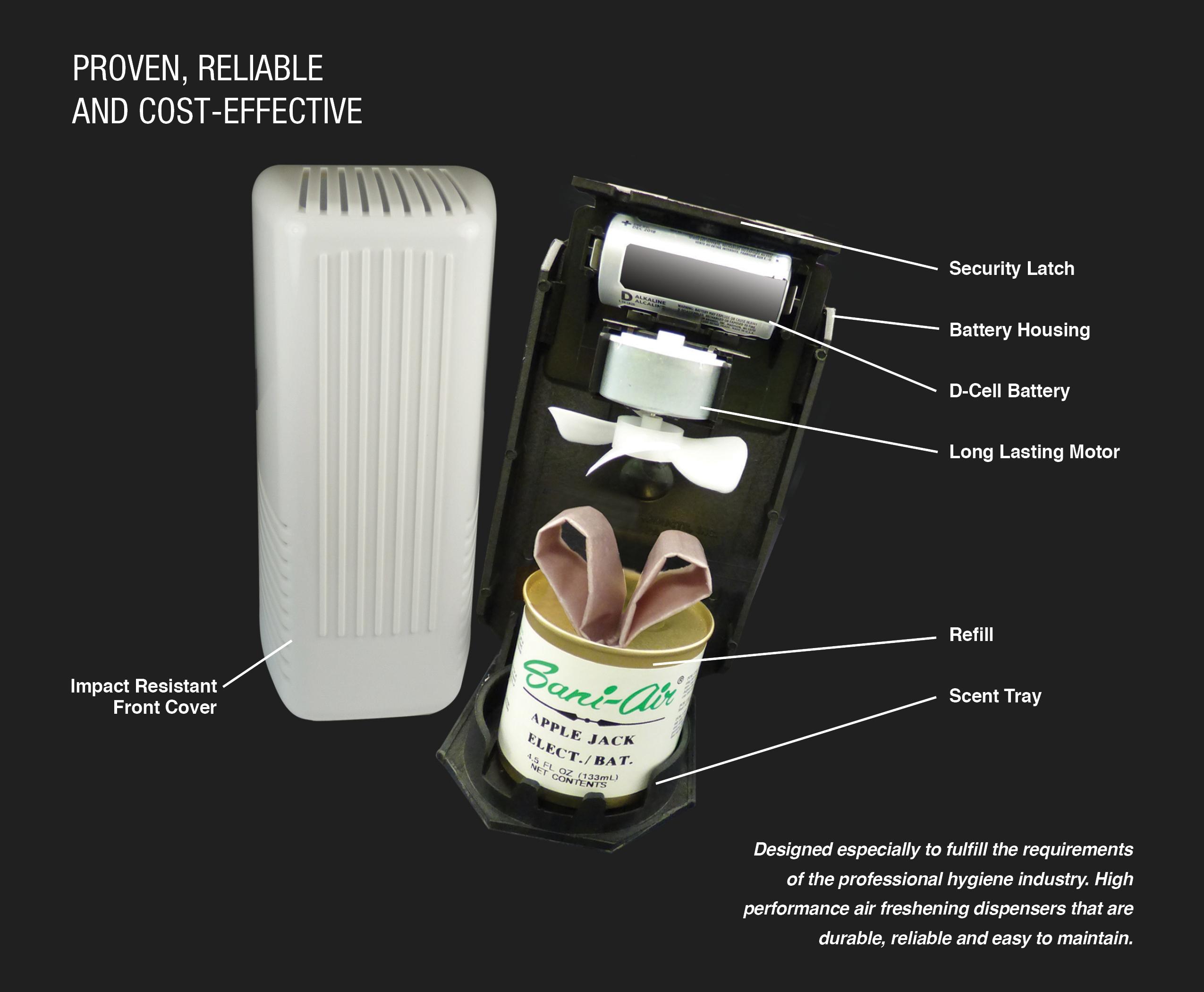 Inside the API-2000 Dispenser