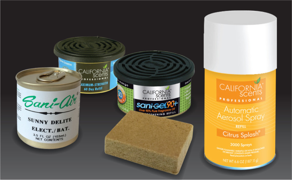 Sani-Air Liquid, Solid And Aerosol Refills
